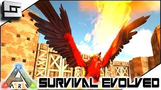 ARK: Survival Evolved - Taming a FIRE GRIFFIN! E11 ( Modded Ark Primal Fear )