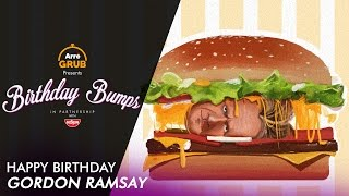 Birthday Bump: Happy Birthday Gordon Ramsay