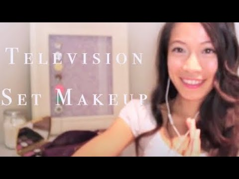 ASMR Binaural Television Interview Ears Neck & Face Makeup Roleplay by FairyChar