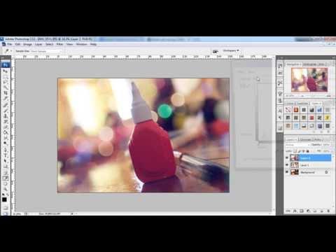 Belajar Edit Bokeh Blur untuk Photography - Tutorial Photoshop