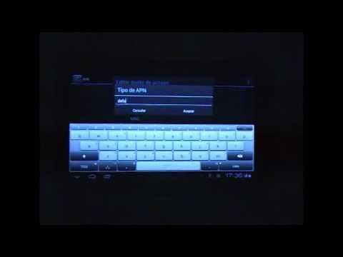 Conectar 3G con un Pincho USB Modem en Tablet Tebros