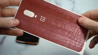 dbrand Red Dragon Skin For OnePlus 6t Review