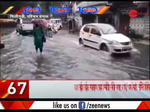News 100: Heavy rain causes traffic jam at several places in Delhi-NCR