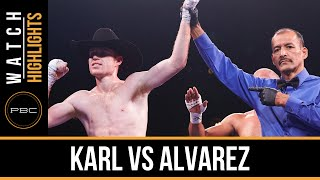 Karl vs Alvarez HIGHLIGHTS: Nov. 28, 2015 - PBC on NBC
