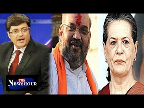 Should Sonia Gandhi Respond To Amit Shah? UPA's Chopper Scam : The Newshour Debate (20th April 2016)