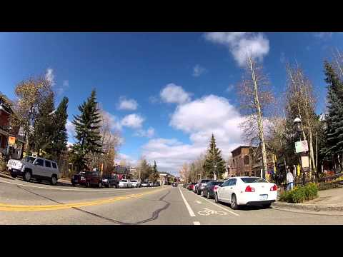 A Drive Through Breckenridge, Colorado Ski Resort Town