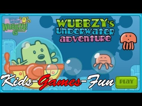 Wow! Wow! Wubbzy! Wubbzy's Underwater Adventure Full Episode Game - Dora The Explorer video