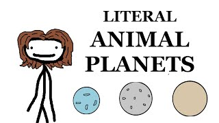Literal Animal Planets -- Wildlife Wednesday
