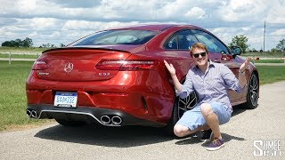 Is the AMG E53 Coupe an AMG Too Many? | TEST DRIVE
