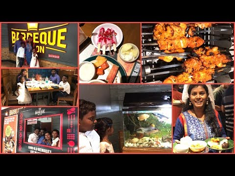 #DIMLJuly1st SundaySpecial Lunch Vlog/Barbeque Nation Restaurant in Banjara Hills/Family Weekend Joy
