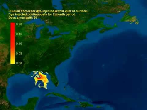 BP Oil Spill Heading to Atlantic