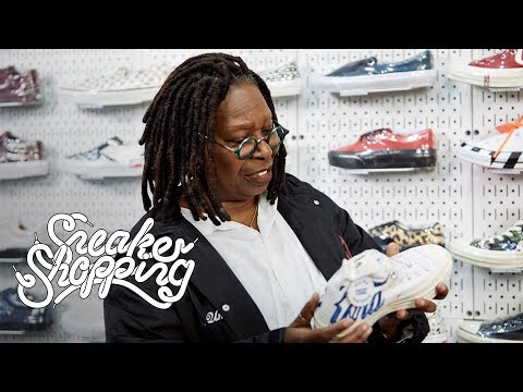 Whoopi Goldberg Goes Sneaker Shopping With Complex