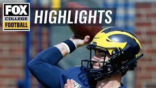 Michigan QB Shea Patterson's fumble leads to 1st qtr Army TD | FOX COLLEGE FOOTBALL HIGHLIGHTS