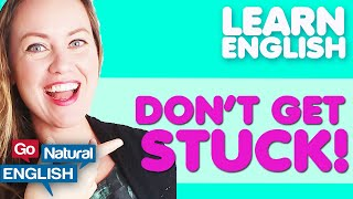 DON'T GET STUCK! HOW TO BECOME AN ACTIVE LEARNER & LEARN ENGLISH FASTER