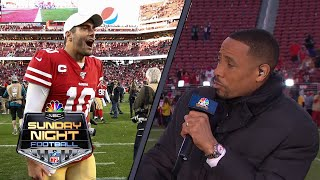 NFL Divisional Round Recap: 49ers believing in Jimmy Garoppolo, Kyle Shanahan | NBC Sports