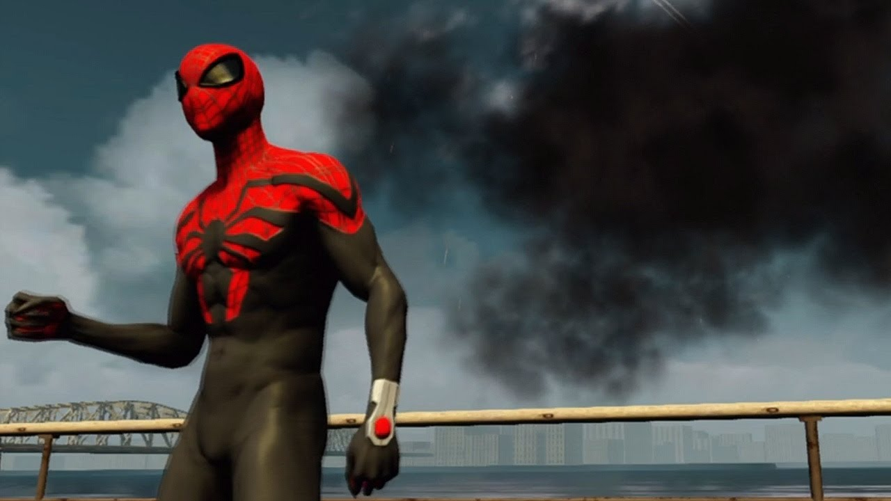 Superior spider man costume