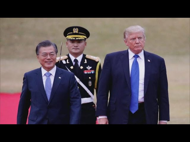 Trump meets with S. Korean president amid N. Korea summit uncertainty