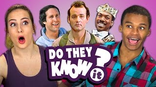 DO TEENS KNOW 80s COMEDY MOVIES? (REACT: Do They Know It?)