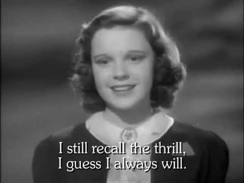 Judy Garland Karaoke - Zing! Went the Strings of My Heart - Swing Version - Listen, Darling 1938