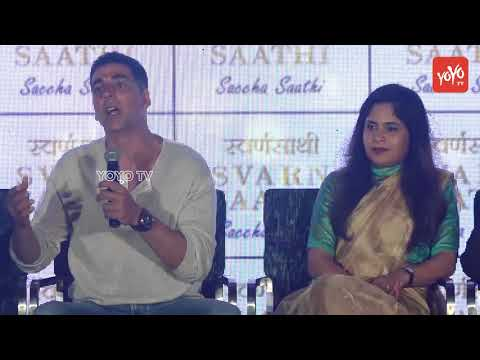 Akshay Kumar Launch Of India's Protective Shield 'Svarn Saathi 'Part-3 | YOYO TV Hindi