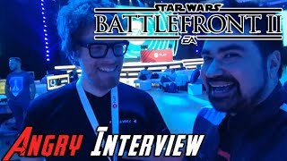 Star Wars Battlefront II Angry Interview - E3 2017!