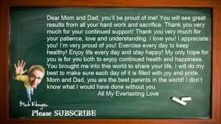 Best English Lessons: Lesson 17: Dear Mom And Dad