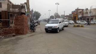 Flag March by Haryana police in wake of Jat Agitation