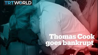Thomas Cook collapse leaves 600,000 travellers stranded abroad