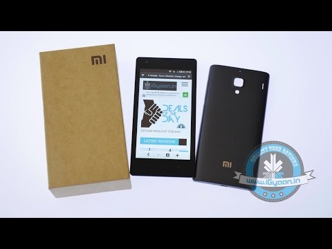 Xiaomi Redmi 1S Dual Sim Unboxing in India and Hands On Review