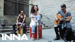 Inna - Devil's Paradise (Live on the street)