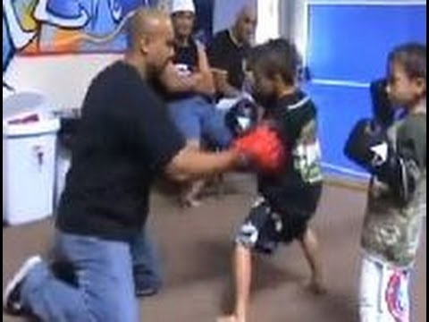 Sick: Little Boys Training For Kickboxing Match | WSHH Image 1