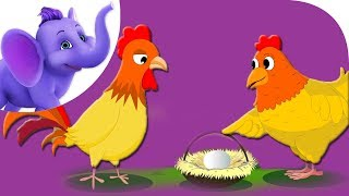 The Cock and the Hen – Nursery Rhyme with Karaoke