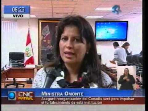 Conadis del Ministerio de la Mujer entrará en reorganización (Congreso)