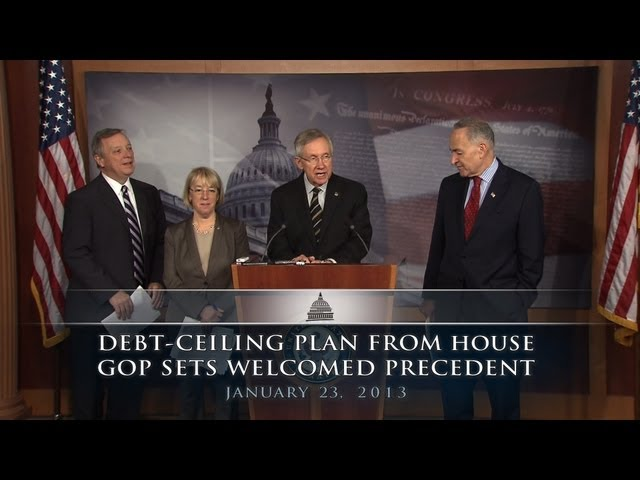 Debt-Ceiling Plan From House GOP Sets Welcomed Precedent