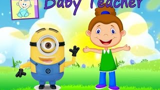 Exercise Video For Kids from Baby Teacher! Version # 2 Let