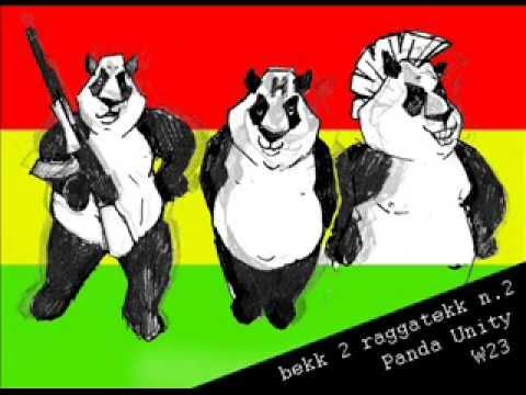bekk 2 ragga tekk no.2 - W23 / Panda Unity