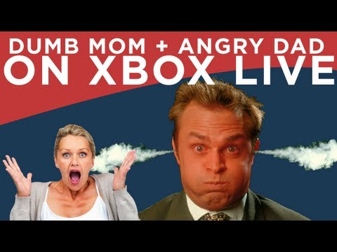 DUMB MOM + ANGRY HUSBAND ON XBOX LIVE!