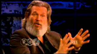 Jeff Bridges with Prof. Richard Brown
