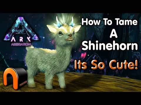 ARK - ARK HOW TO TAME A SHINEHORN on Aberration