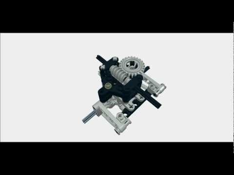 LEGO steered and driven pendular suspension