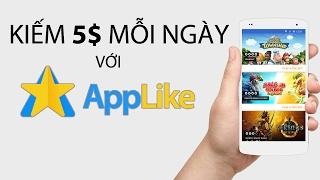 Kiếm tiền Applike 5$ / ngày chỉ cần treo điện thoại Android qua đêm [LINK IN DESCRIPTION]