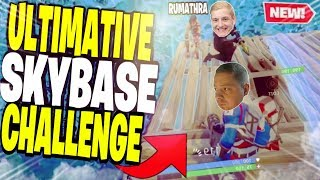 😂☠ Die ULTIMATIVE SKYBASE?! mit Trymacs & Rumathra | Fortnite Battle Royale