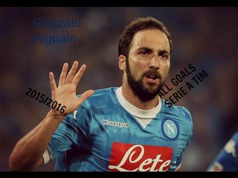Gonzalo Higuain ● All 36 Goals ● Serie A Tim ● 2015/2016