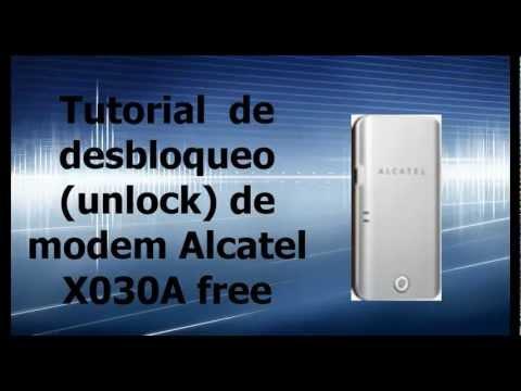 Pasos para desbloquear (quitar la restricción de operador) un módem alcatel x030a de forma gratis