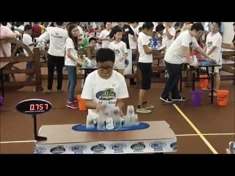 WSSA Indonesia Sport Stacking Championships 2016