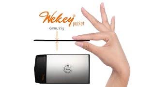 Wekey Pocket: the Pocket-sized Wireless Keyboard