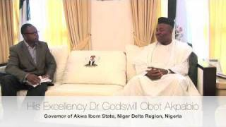 His Excellency Governor Godswill Akpabio speaks on his second term