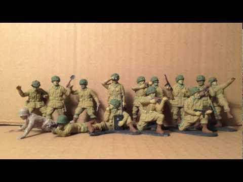 AIRFIX 1:32 SCALE U.S. INFANTRY  & PARATROOPS