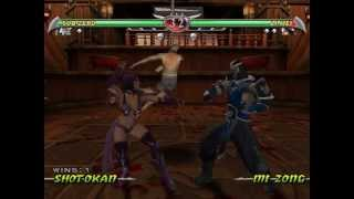 "Mortal Kombat: Deception (GC) ""glitchfest"" TAS"