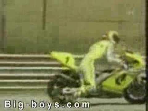motorsiklet yarışı inanılmaz